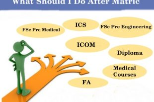 What Should I Do After Matric In Pakistan