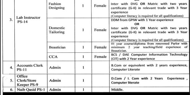 Online Application Form For Government Job on