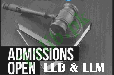 Law Colleges Admission 2021 In Pakistan