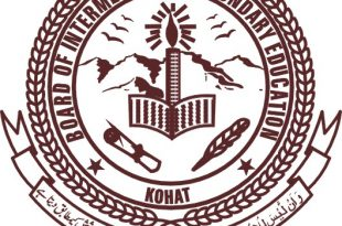 BISE Kohat Board Matric 9th, 10th Class Supplementary Result 2016