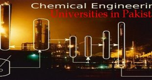 Best Chemical Engineering Universities In Pakistan