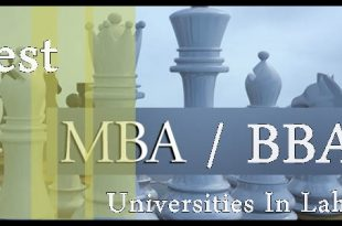Best Universities In Lahore For MBA/ BBA