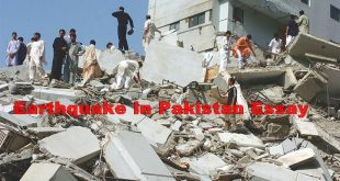 Earthquake In Pakistan Essay In English