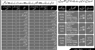Punjab Police Civilian Jobs 2016 NTS Application Form, Last Date