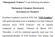 FFC Management Trainee Test Dates Schedule 2017, Online NTS Registration