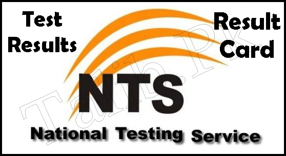 NTS Results 2018 Test By Roll No And Name Wise Result Card