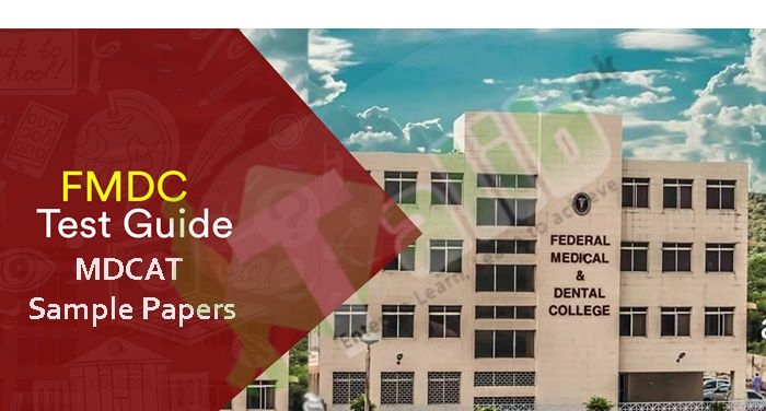 Sample Paper Of FMDC Entry Test For MBBS And BDS
