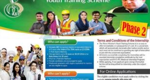 National Internship Program NIP 2017 Apply Online Application Form
