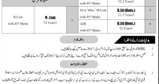 University Of Loralai Masters Admissions 2017 Download Online Form, Last Date
