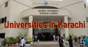 List Of Public And Private Universities In Karachi