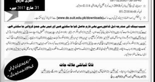 Sarhad University Distance Education Admissions 2017 Spring Form, Courses, Last Date