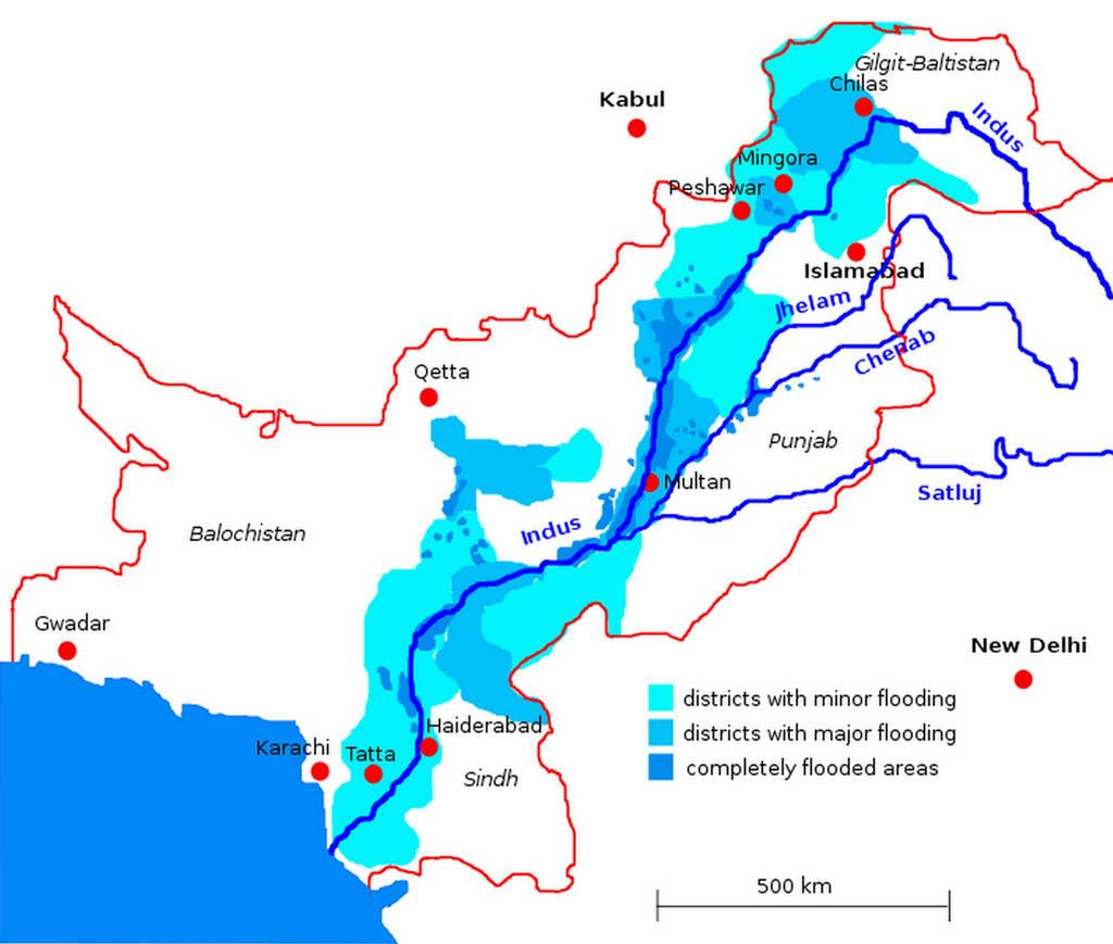 Information About Rivers Of Pakistan In Urdu