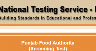 Punjab Food authority NTS result 2017 answer keys 22nd, 23rd, 29th, 30th April