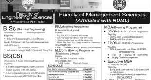 APCOMS Admissions Fall 2017 Army Public College Admission Form, Date Schedule