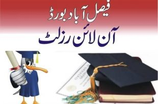 BISE FSD 10th Class Result 2018 Faisalabad Board SSC Result By Name, Roll Number