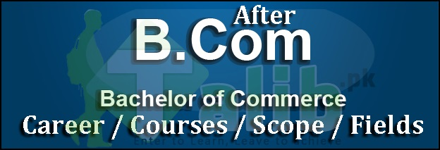 Career / Courses After B.com In Pakistan