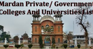 Mardan Private/ Government Colleges And Universities List