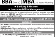 PU Hailey College Of Banking And Finance Admissions 2018 BBA, MBA Schedule
