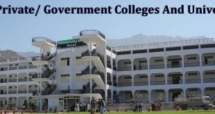 Swat Private/ Government Colleges And Universities List
