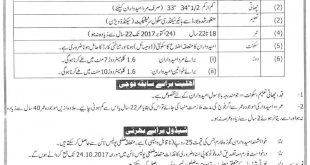 Traffic Wardens Jobs In Punjab Police 2017 Application Form, Last Date