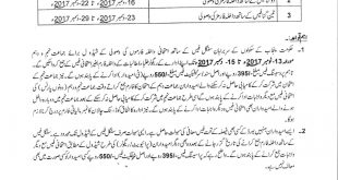 BISE Lahore Board Matric 9th 10th Class Admission Form 2018 Fee, Date Schedule