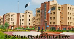 Best Universities In Lahore For BSCS Computer Science