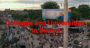 Top Colleges and Universities in Sialkot