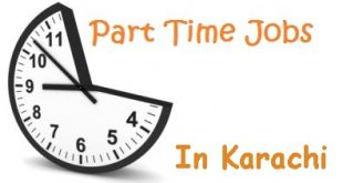Part Time Jobs In Karachi For Matric and Intermediate Students