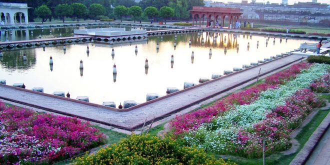 how many levels are there in shalimar garden