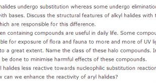 Chemistry Important Long Questions For 12th Class Intermediate Part 2