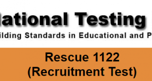 Rescue 1122 EMT Test Sample Questions 2018 Download Model Papers