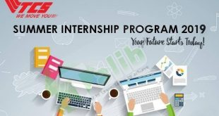 TCS Summer Internship 2019 Pakistan Stipend Application Form