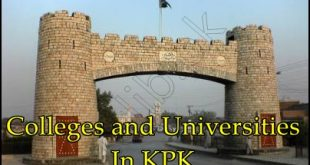 Khyber Pakhtunkhwa Colleges And Universities List