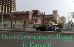 Top 10 Government Colleges In Karachi For Commerce