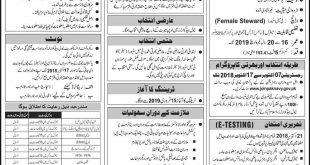 Join Pakistan Navy As Female Steward (Sailor) 2018 Online Registration Form, Last Date