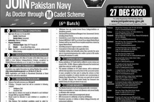 How To Join Pak Navy As a Doctor 2021