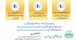 Online College Admission System Punjab 2020 In Pakistan For Intermediate