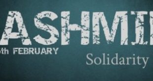 Kashmir Day Speech For School In English