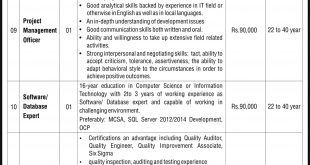 Quetta Safe City Project Jobs NTS Test Result 2019 Answer Keys