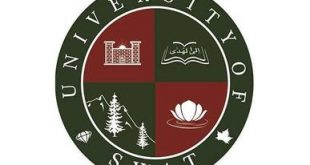The University Of Swat BA BSc Admission 2019 Form Fee Last Date Schedule