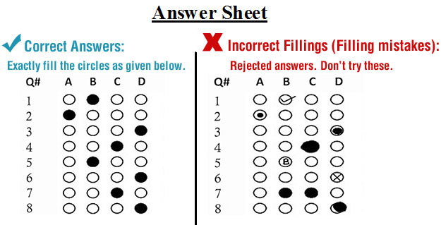 PUCIT Entry Test Sample Paper 2021 Pattern for BS and MSc