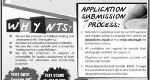 NTS GAT General 8th August Test Result 2021 Answer Keys
