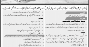 Join Pak Army As Junior Commissioned Officer 2021