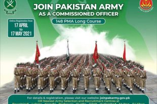 Join Pak Army As Commissioned Officer 2021